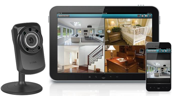 2-PACK D-Link Wireless Day Night WiFi IP Security Camera & Remote View