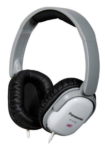 Panasonic RPHC200W Active Noise Canceling Over-the-Ear Headphones