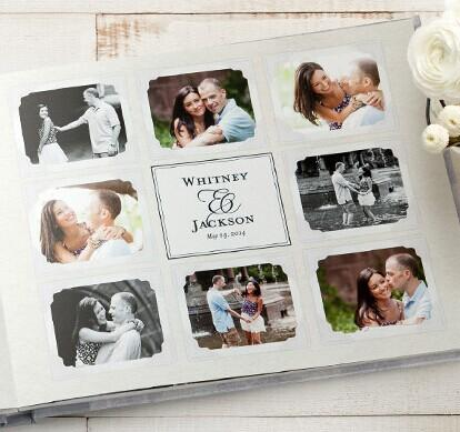 Free + $8.99 Shipping 20-Page Shutterfly Personalized 8x11 Wedding Guestbook