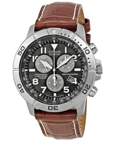 Citizen Eco-Drive Perpetual Calendar Mens Watch BL5250-02L