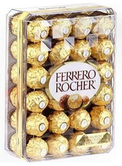 $12.49 Ferrero Rocher Fine Hazelnut Chocolate, 48 Count