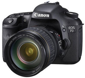 $849 Canon EOS 7D SLR Digital Camera with 28-135mm f/3.5-5.6 IS USM Lens