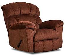 $329.99 Simmons Upholstery Wendall Traditional Rocker Recliner 558