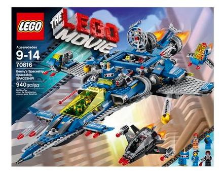 LEGO Movie 70816 Benny's Spaceship Building Set