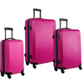 172.36 Nautica Luggage Ahoy 3 Piece Hard Side Spinner Outer Shell Set