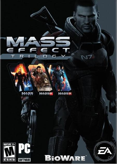 $14.99 Mass Effect Trilogy (Online Game Code)