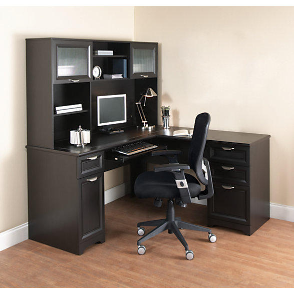 $104.99 Realspace® Magellan Collection L-Shaped Desk