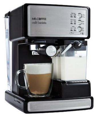 $149.99 Mr. Coffee Cafe Barista Espresso Maker with Automatic milk frother, BVMC-ECMP1000