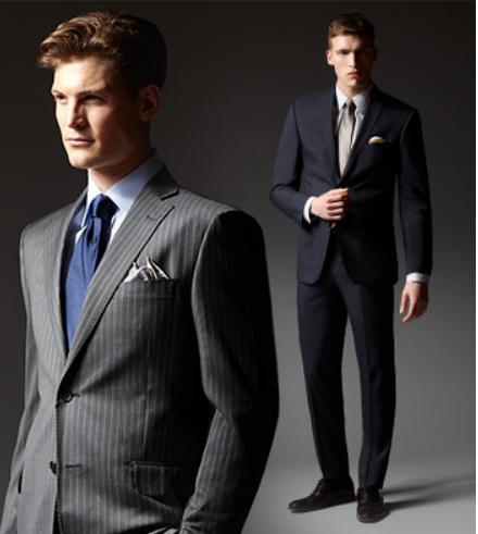$399.99 Selected Hickey Freeman Wool Suits @ Saks Off 5th
