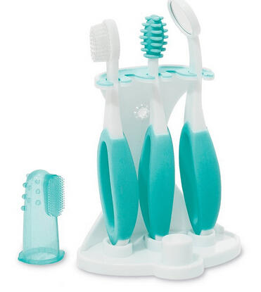 Summer Infant Oral Care Kit, Teal/White
