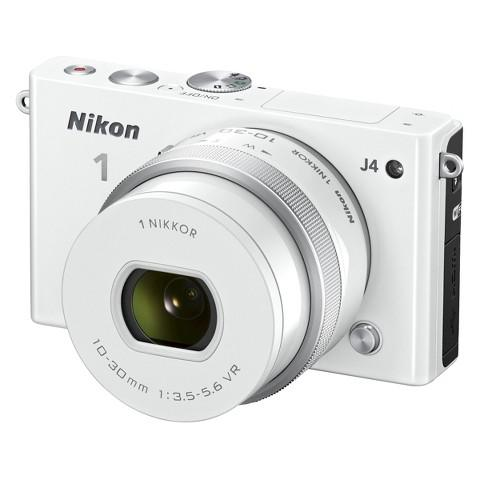 Factory Refurbished Nikon 1 J4 Digital Camera with 1 NIKKOR 10-30mm f/3.5-5.6 PD Zoom Lens