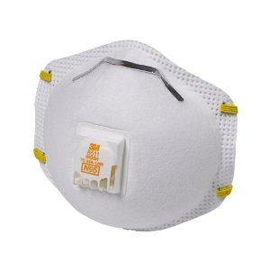 $13.65 3M 8511 Particulate N95 Respirator with Valve, 10-Pack