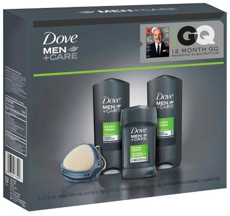 $7.48 Dove Men GQ Extra Fresh Holiday Gift Set