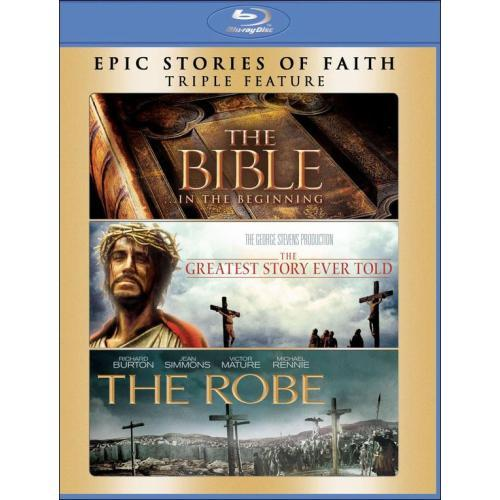 $9.99 Bible / Greatest Story Ever Told / Robe (Blu-ray Disc) (3 Disc)