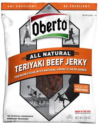 $2.99 Oberto All Natural Beef Jerky 3.25OZ