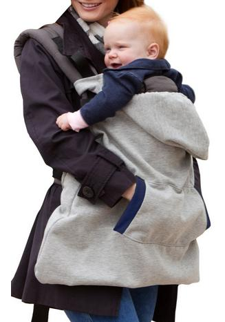 $15.82 Infantino Hoodie Universal All Season Carrier Cover, Gray
