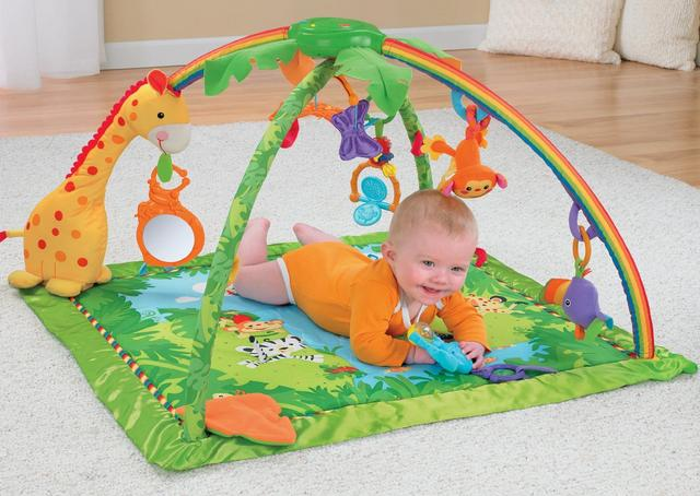 $43.99 Fisher-Price Rainforest Melodies and Lights Deluxe Gym