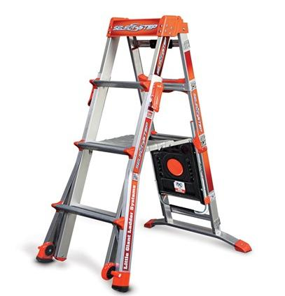 $141.99(原价$230.18) Little Giant 15009-001 Select Step 4'-6' 可折叠平台梯架