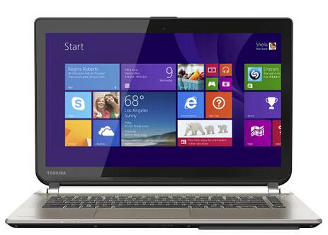 "$599.99 Toshiba Satellite 14"" Touch-Screen Laptop"