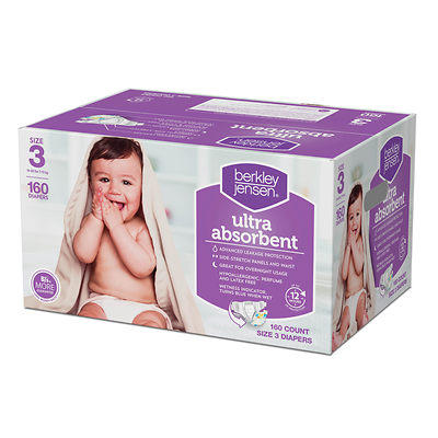 $13.64 Berkley Jensen Baby Diapers