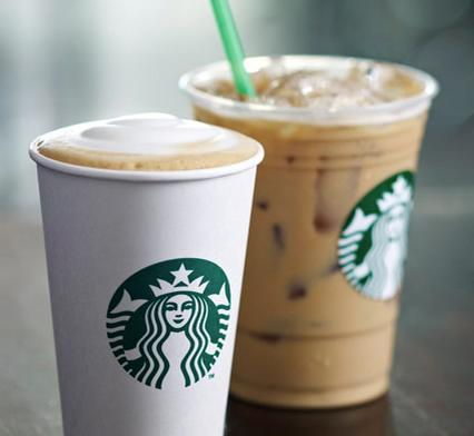 2 Free Drinks with Starbucks Reward P...