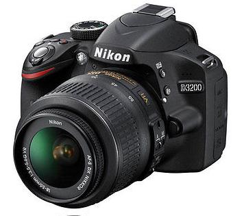 $299 Refurb Nikon D3200 Digital SLR Camera Black Kit w/ 18-55mm AF-S VR DX Nikkor Zoom Lens