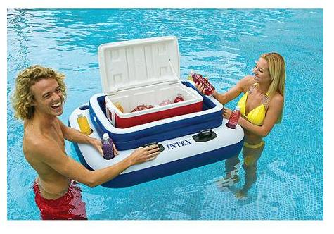$13.91 Intex Mega Chill II Floating Cooler