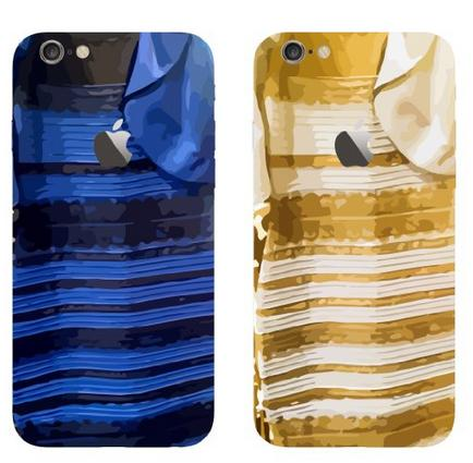 "$9.99 Iphone 6 Plus, 5.5"" Case - Bastex Heavy Duty Snap on Case - Black and Blue Dress Design Case and Gold / White Dress Design for Apple Iphone 6 Plus, 5.5"""