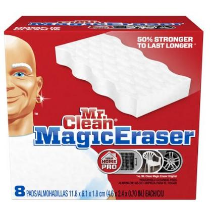 $7.53 Mr. Clean Magic Eraser Extra Power Home Pro, 8 Count Box