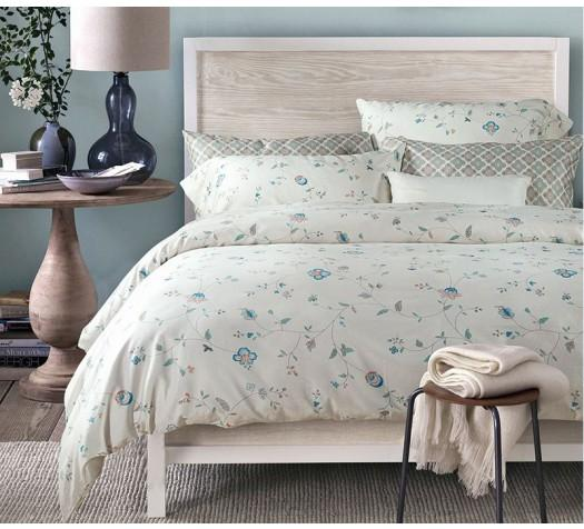 15% OffEvelyn and Les Cotton Sateen Duvet Cover+Fitted/Flat Sheet+Pillow Sham