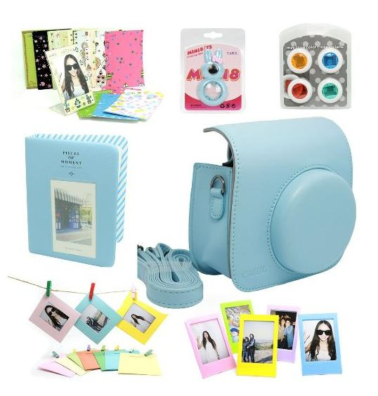 Fujifilm Instax Mini 8 Instant Camera Accessory Bundles Set