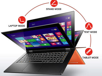"$899 Lenovo Yoga 2 Pro Intel Haswell Core i7 2GHz 13.3"" Touchscreen Laptop"