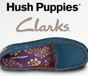 Up to 60% off  Clarks and Hush Puppies @ 6PM.com
