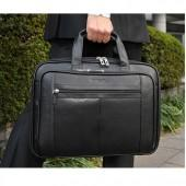 $82.82 Samsonite Leather Expandable Briefcase