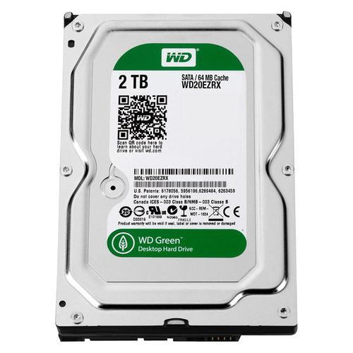"$64.99 2TB Western Digital WD Green 3.5"" SATA 6 Gb/s内置硬盘"