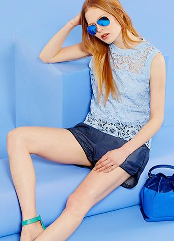 Up to 74% Off Blue Style Items on Sale @ Ideel