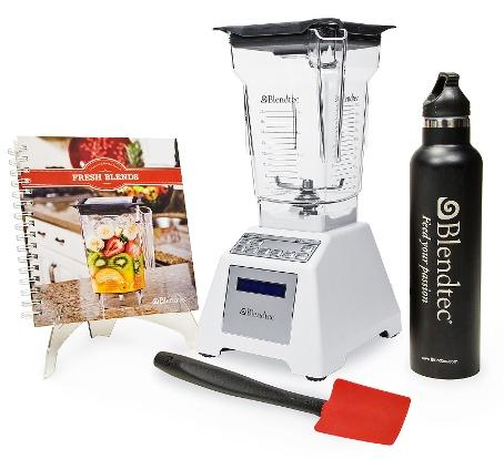 $279.99 Blendtec 1560-Watt All-in-One Total Blender Classic Set with 8-Year Limited Warranty
