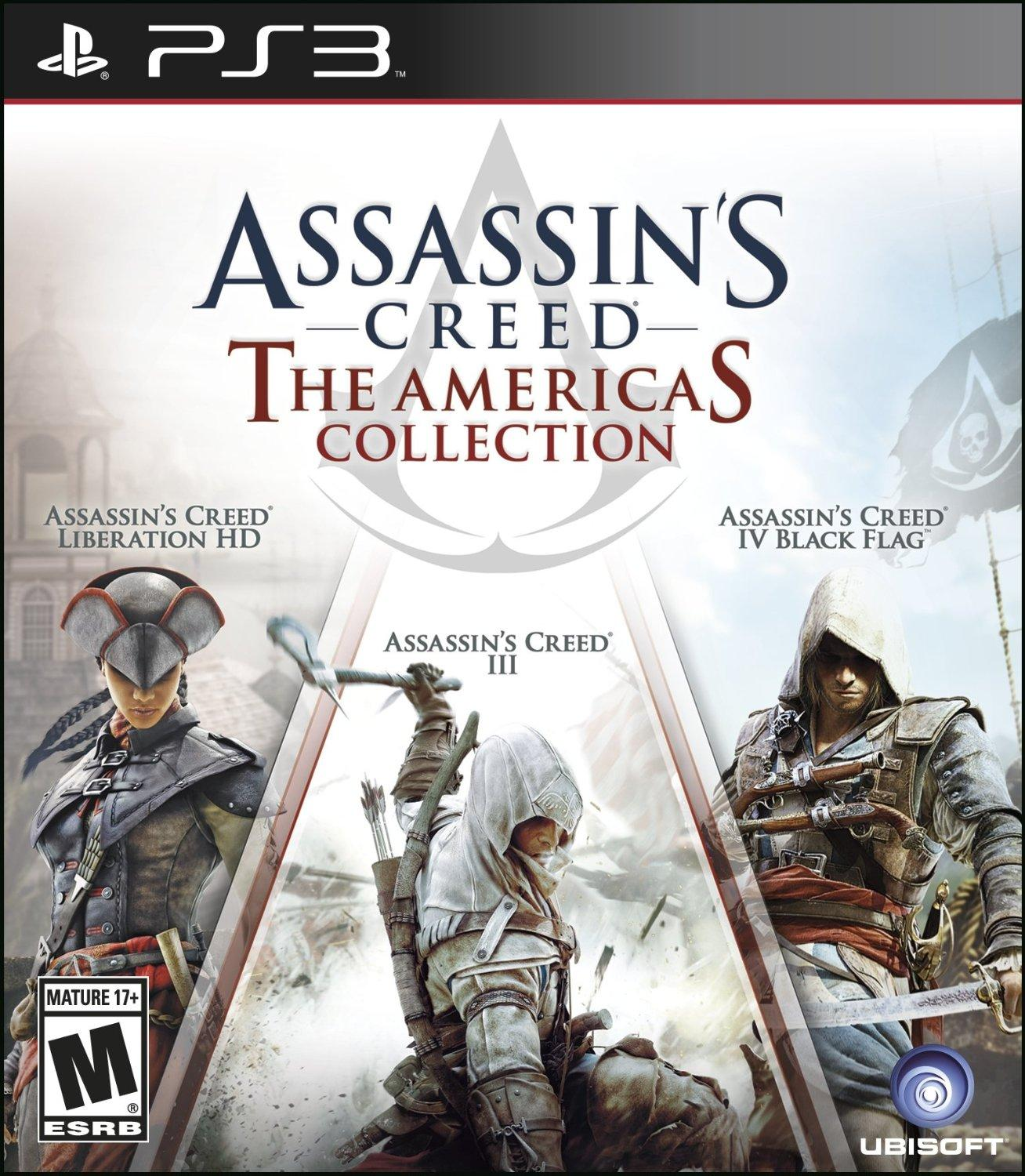 $19.99 Assassin's Creed: The Americas Collection - PlayStation 3 Standard Edition