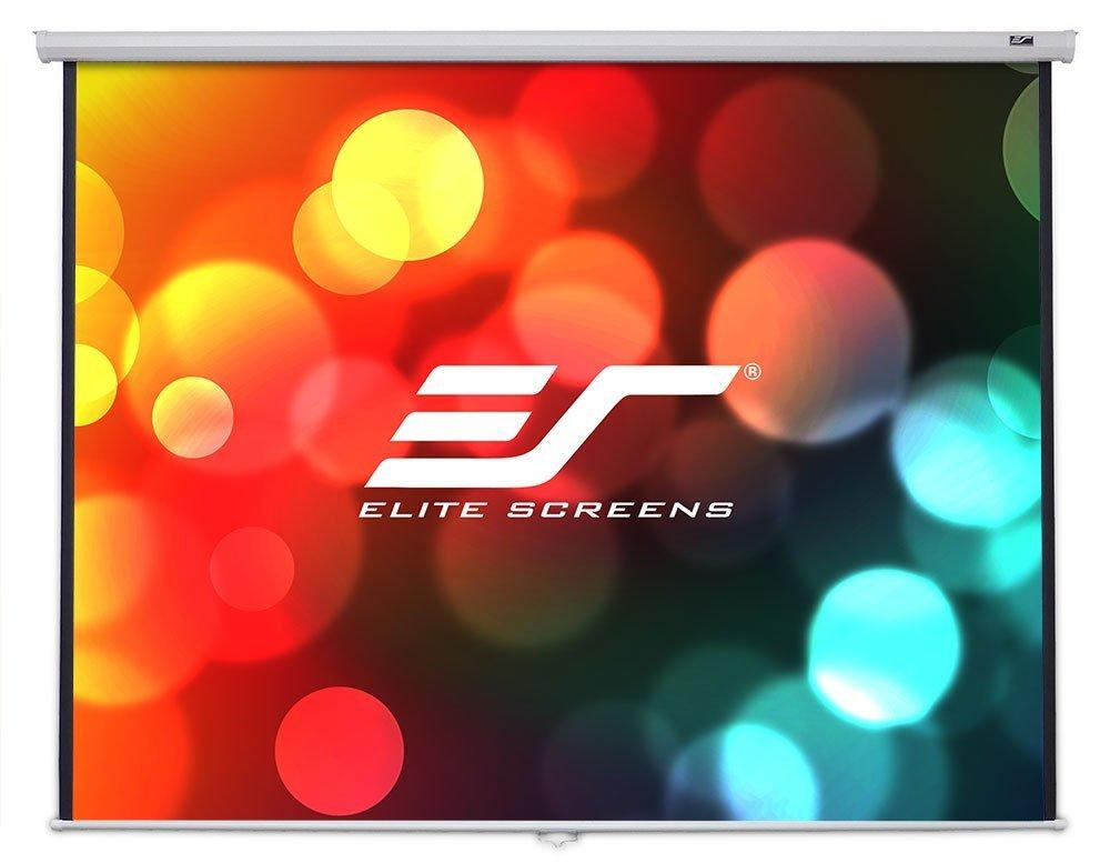 "$61 Elite Screens 100 Inch 16:9 Manual B Pull Down Projector Screen (49""Hx87""W)"