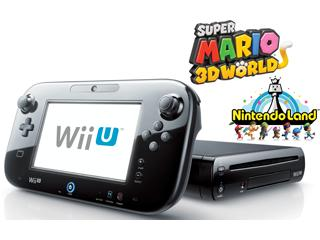 $225  Wii U Deluxe w/Nintendo Land and Super Mario 3D World Bundle - Refurbished