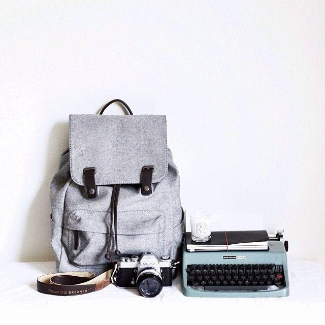 $65Everlane The Twill Snap Backpack