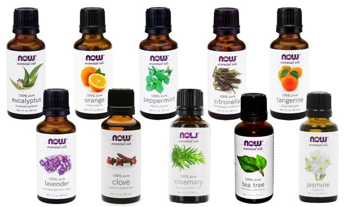 $61.99 NOW Essential Oils 10-Oil Variety Pack