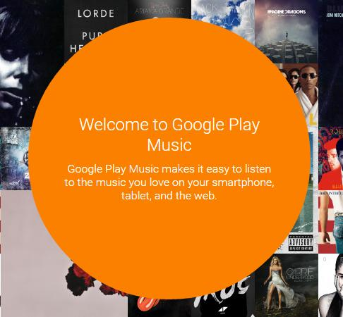 $33-Month Google Play Music Subscription