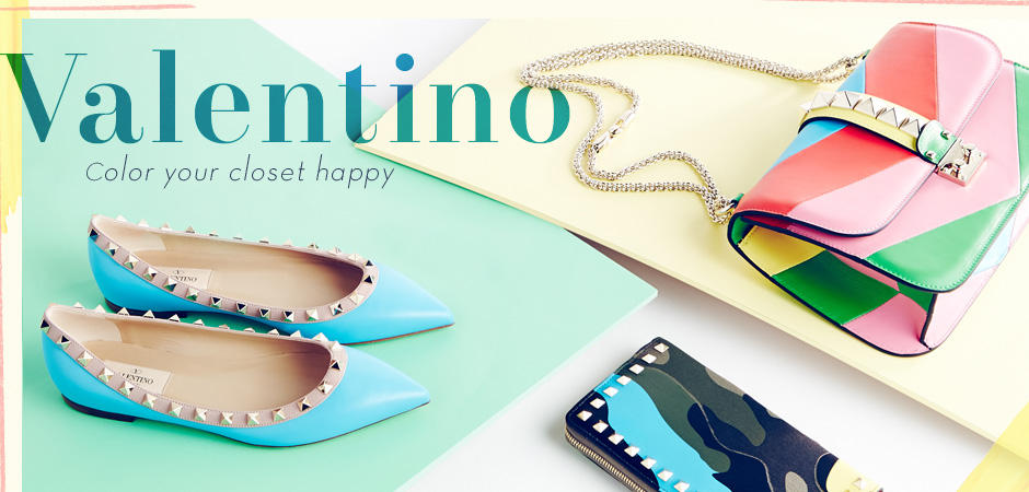 Up to 53% Off Valentino Bags and Shoes @ Rue La La