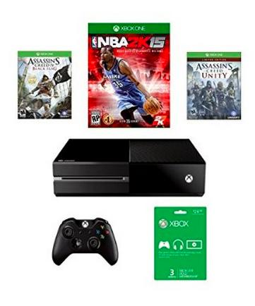 $349.99 Xbox One Assassin's Creed Unity Bundle + 3 months of Xbox Live + NBA 2K15