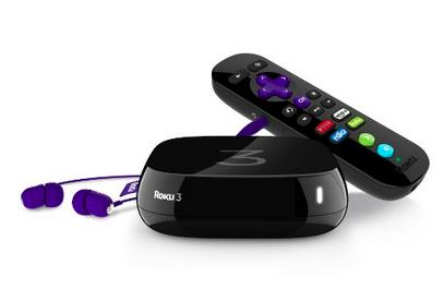 $62Refurbished Roku 3 Digital HD Streaming Media player w/ Headphones Game Remote