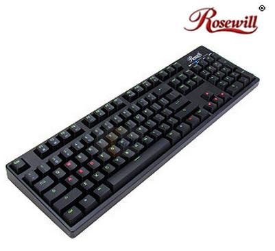 $71.99 Rosewill Helios RK-9200BU - Dual LED Illuminated Mechanical Keyboard with Cherry MX Blue or Black Switches