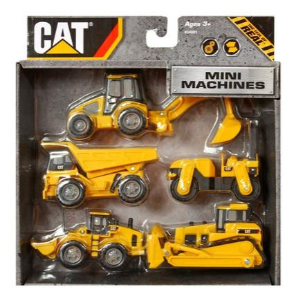 Toy State CAT Mini Machine (5-Pack), 3