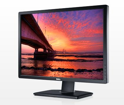 "$287.99 Dell U2412M 24"" IPS LCD Monitor + $100 Dell Promo eGift Card"