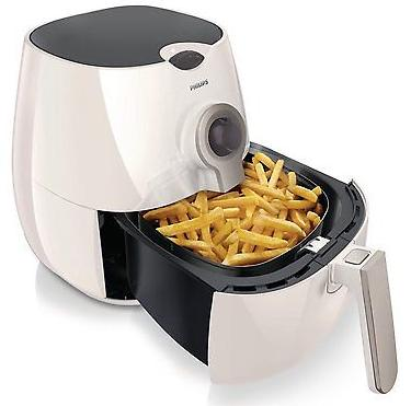 $129.99 + Free Shipping Philips AirFryer with Rapid Air Technology, White